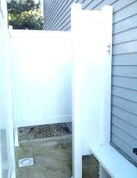 showers best outdoor shower enclosures enclosure ideas on large curtains ou