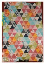 Terrific Traditions: Equilateral Triangle Quilts & Quilt Pattern: Hidden Hexagons (Triangles) Adamdwight.com