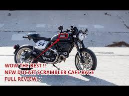 the best 2017 ducati scrambler caf racer price youtube