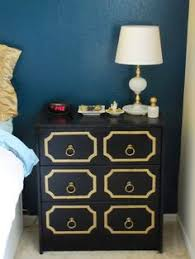 diy dorothy draper nightstand heres another beautiful ikea rast makeover check out the detailed instructions check beautiful diy ikea