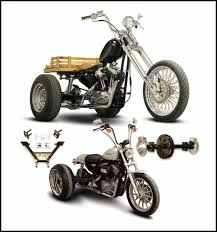Paughco Bolt-On Sportster Trike Conversion Kits, Out Now ...