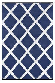 sweetlooking white and blue rug navy indoor outdoor green decore