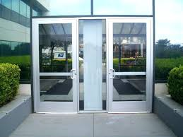 glass business entry doors commercial glass front doors popular double entry with aluminum in door for