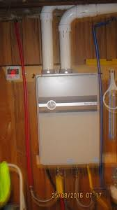 rheem indoor tankless water heater. rheem 9.5 gpm natural gas high efficiency indoor tankless water heater ecoh200dvln-1 at the home depot - mobile
