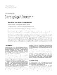 Pdf) Proposal For A Security Management In...