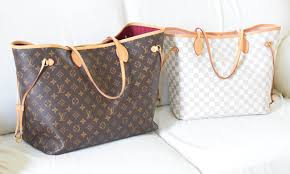 louis vuitton neverfull white. louis vuitton neverfull review and comparison white t