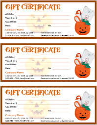 Microsoft Word Gift Certificate Template Halloween Gift Certificate For Word Office Templates Online