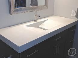 concrete sinks in new york customcretewerks inc for vanity sink plans 3