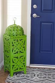 front door paint colors 2Navy Blue Interior Front Door  Easy Pop of Color