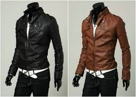designer leather blazer