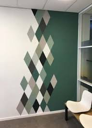 cool wall painting ideas patterns 52