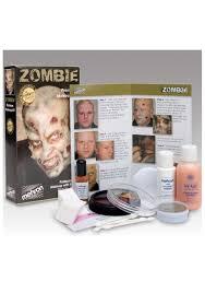 professional zombie makeup set description
