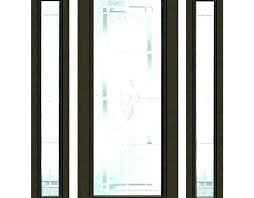 front door panel sidelight panels curtains for side a glass replacement