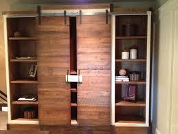 bookshelves with sliding doors bookshelf ideas 17