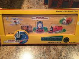 thomas the train wooden character puzzle 96102 learning curve nrfb retired