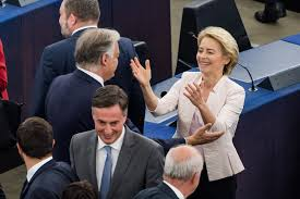 But instead of seizing the moment, von der leyen, who arrived in brussels in 2019 from germany's defense ministry, has gone awol. Eu Ursula Von Der Leyen Confirmed As Commission President Bloomberg