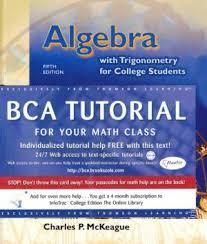 algebra trigonometry for college students  stock image