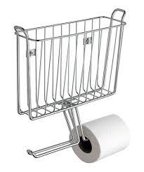 Chrome Toilet Paper Holder Magazine Rack Chrome Magazine Holder Toilet Paper Dispenser 25