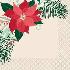 Details Zu 16 X Weihnachtsstern Traditionell Weihnachten Servietten Rot Blume 33cm