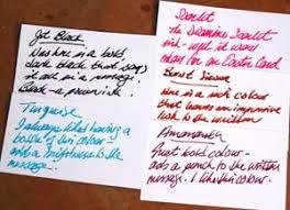 Diamine Fountain Pen Ink Glenns Page