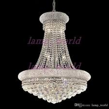 brilliant big crystal chandelier gold or silver empire chandelier light gold and silver g30