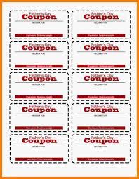 free coupon template word 5 free coupon template word ledger review