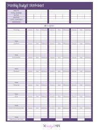 budget sheets pdf 25 unique monthly budget worksheets ideas on pinterest