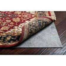 area rug padding hardwood floor area rug pads safe for hardwood floors