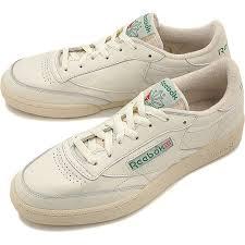 reebok 85 c vintage. reebok classics men\u0027s women\u0027s sneaker club champion 85 vintage classic club c vintage chalk t