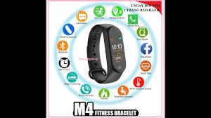 Đồng hồ thông minh M4 đeo tay - YouTube