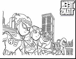 Small Picture Download Coloring Pages Teen Titans Coloring Pages Teen Titans