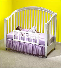 convertible baby crib bed rail wood home design remodeling ideas