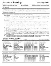 100 Artist Resume Printable Awards Honors And Activities ...