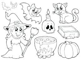 Halloween Coloring Pages Preschoolers Pages To Color Toddler