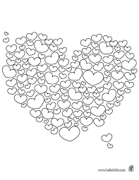 Small Picture Hearts to color online or print out and color on paper Free