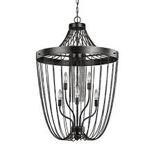 sea gull lighting kelvyn park 6 light in stardust multi tier chandelier