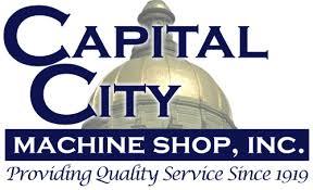 machine shop logo. capital city machine shop, inc. shop logo