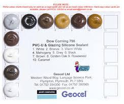 Dow Corning 791 Color Chart Details About Dow Corning 796 Pvc U Wood Aluminium Silicone Sealant Coloured Colour Sealant