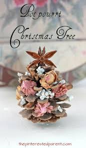 Kids Christmas Activities  HandspirePine Cone Christmas Tree Craft Project