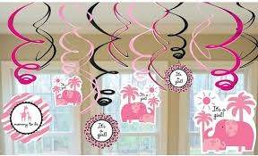 Decorations For Baby Shower A Modern Baby Girl ShowerBaby Shower For Girls Decorations