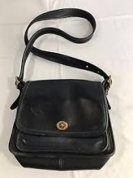 ... Coach-Ramblers-Legacy-Flap-Classic-Leather-Crossbody-Bag-