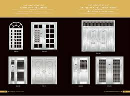 exterior metal door suppliers. alibaba china suppliers best selling safety door design with grill exterior metal