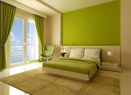 Small Green Bedroom Fashionable Colorful Polkadot Cover Beds With Small Nightstands As