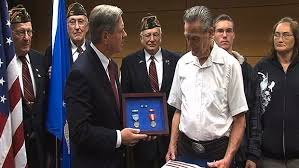 Air Force Electrician Honored After Many Years Wday