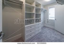 empty closet with hangers. Room With The Open Empty Closet, Working Cupboard Some Racks, Hangers Closet R