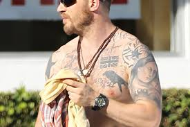 Tom Hardy Exposed What Do The Stars Tattoos Really Mean The Sun