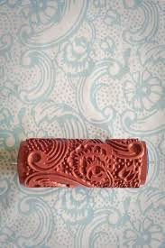 7 patterned paint roller from the painted house