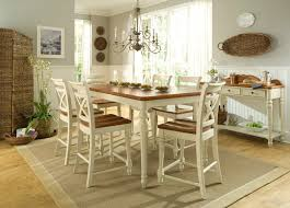 image of round rug for kitchen table