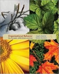 organizational behavior key concepts skills best practices by  912800