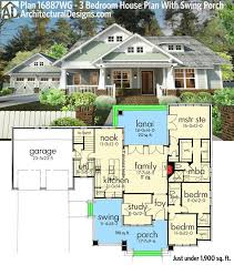 One story house plans with porches best 25 level ideas on pinterest four bedroom 19